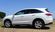A side view of a 2013 Acura RDX AWD Tech