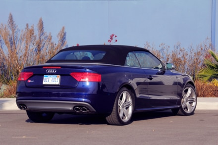 Audi S5 Cabriolet top up