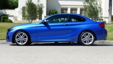 2015 BMW 228i Coupe side view