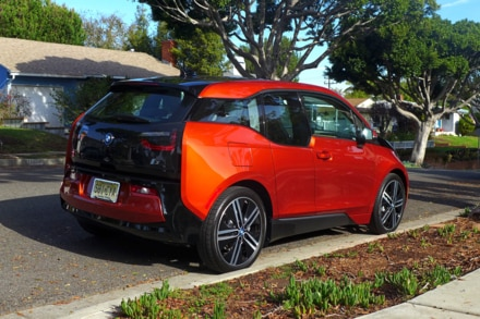 2015 BMW i3 right side