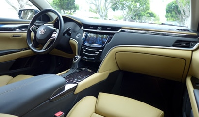 The interior of the 2013 Cadillac XTS AWD Premium Collection