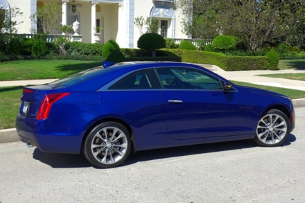 2015 Cadillac ATS Coupe 2.0T right side view