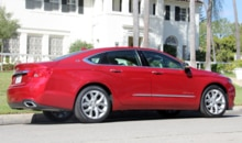 A side view of the 2014 Chevrolet Impala 2LTZ