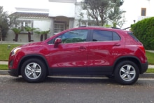 2015 Chevrolet Trax LT FWD side view