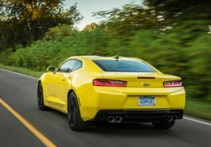 2016 Chevrolet Camaro 2LT Coupe rear view