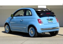2015 Fiat 500C 1957 Edition back view