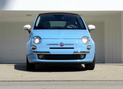 2015 Fiat 500C 1957 Edition front view