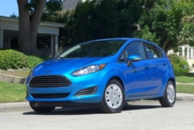 2014 Ford Fiesta SE front view