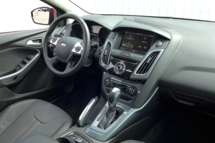 2014 Ford Focus interior view