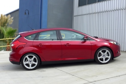2014 Ford Focus side view