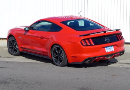 2016 Ford Mustang GT California Special back view