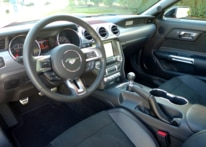 2016 Ford Mustang GT California Special interior view