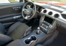 2016 Ford Mustang GT California Special interior