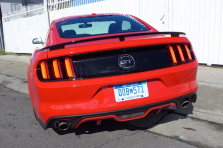 2016 Ford Mustang GT California Special rear view