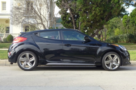 2015 Hyundai Veloster R-Spec side view
