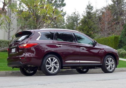 2014 Infiniti QX60 3.5 AWD side view