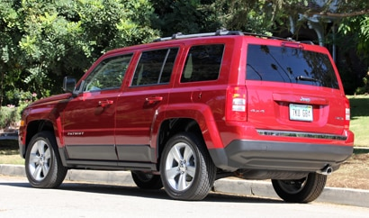 2014 Jeep Patriot Limited 4x4 rear view