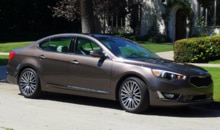 2014 Kia Cadenza side view