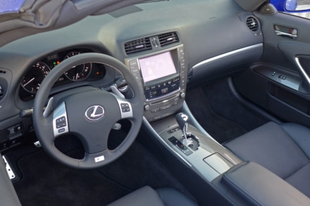 2014 Lexus IS350 Convertible F Sport interior
