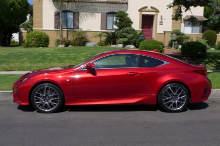 2015 Lexus RC 350 side view