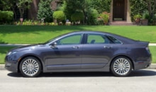 2013 Lincoln MKZ AWD side view