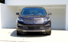 2015 Lincoln MKC Black Label AWD front view