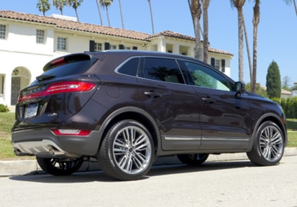 2015 Lincoln MKC Black Label AWD side view