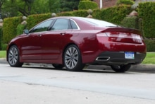 2015 Lincoln MKZ Hybrid Black Label back view