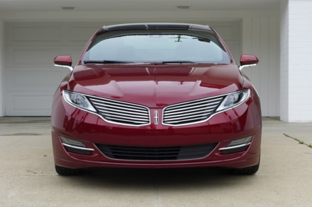 2015 Lincoln MKZ Hybrid Black Label front view