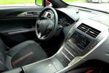 2015 Lincoln MKZ Hybrid Black Label interior