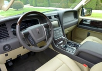 2015 Lincoln Navigator 4x4 dashboard