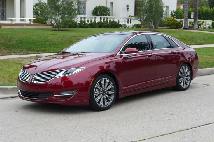 2015 Lincoln MKZ Hybrid Black Label