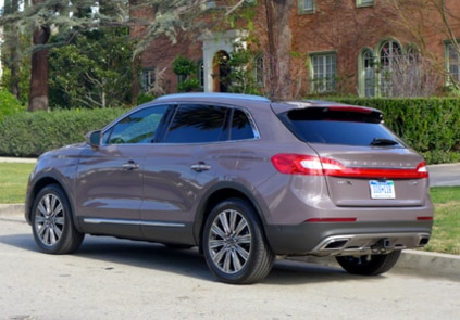 2016 Lincoln MKX Black Label AWD back view