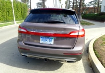 2016 Lincoln MKX Black Label AWD rear view