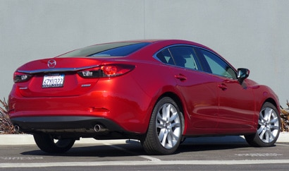 2014 Mazda 6 Touring rear view