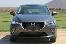 2016 Mazda CX-3 Grand Touring AWD front view