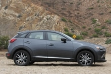 2016 Mazda CX-3 Grand Touring AWD side view