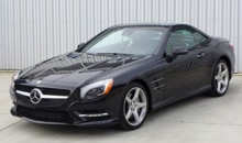 2013 Mercedes-Benz SL550 Roadster front view