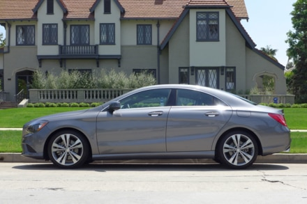 2014 Mercedes-Benz CLA250 4Matic side view