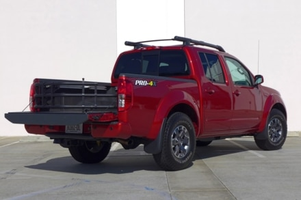 2014 Nissan Frontier rear view