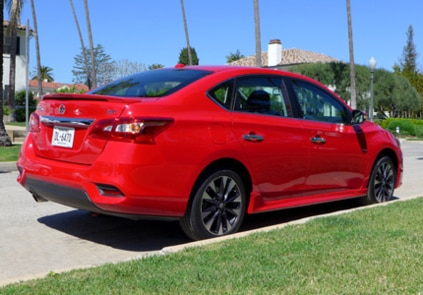 2016 Nissan Sentra SR rear view