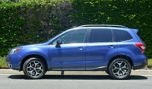 2014 Subaru Forester 2.0 XT Touring side view