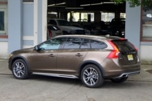 2015 Volvo V60 T5 AWD Cross Country rear view