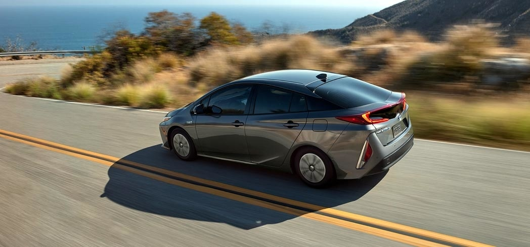 The 2017 Toyota Prius Prime, one of GAYOT's Best Hatchbacks
