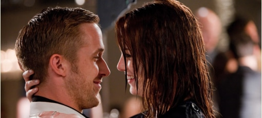 Ryan Gosling and Emma Stone star in Crazy Stupid Love, one of GAYOT's Top 10 Romantic Comedies