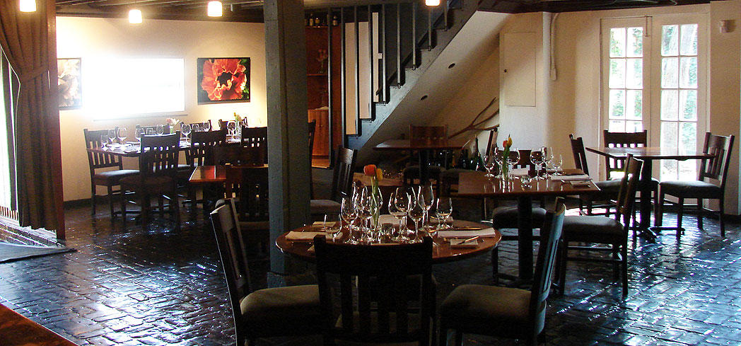 The dining room of 610 Magnolia in Louisville, Kentucky