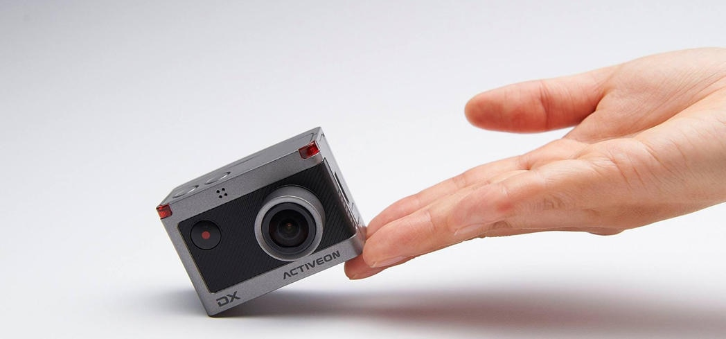The ACTIVON Camera is a pocket-sized powerhouse that packs a punch
