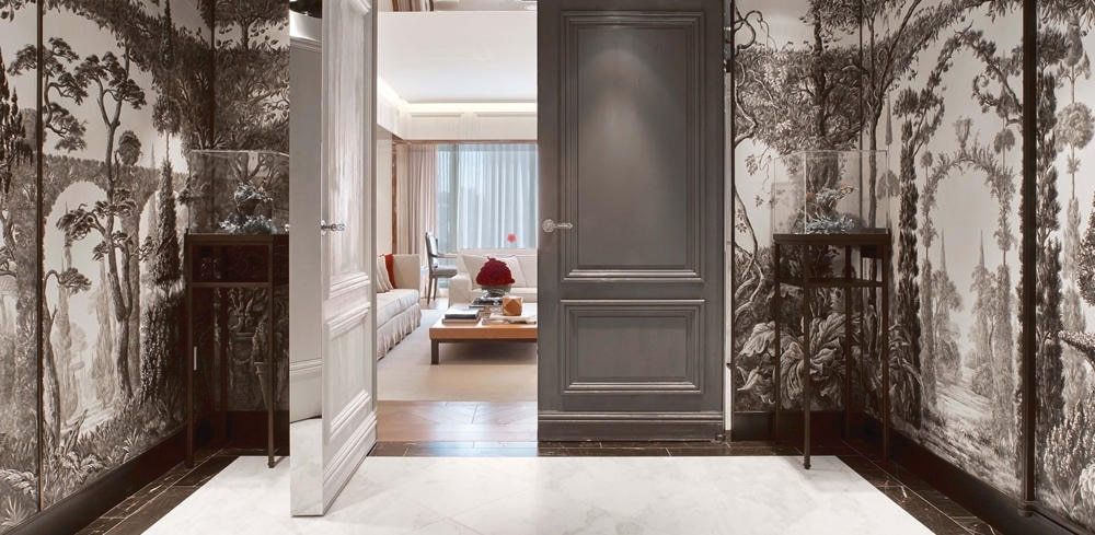 Opulence is the name of the game at the Baccarat Hotel & Residences in New York City