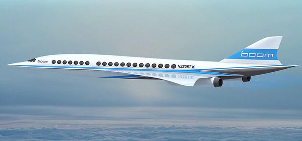 Boom airline startup company aims to restore supersonic flights