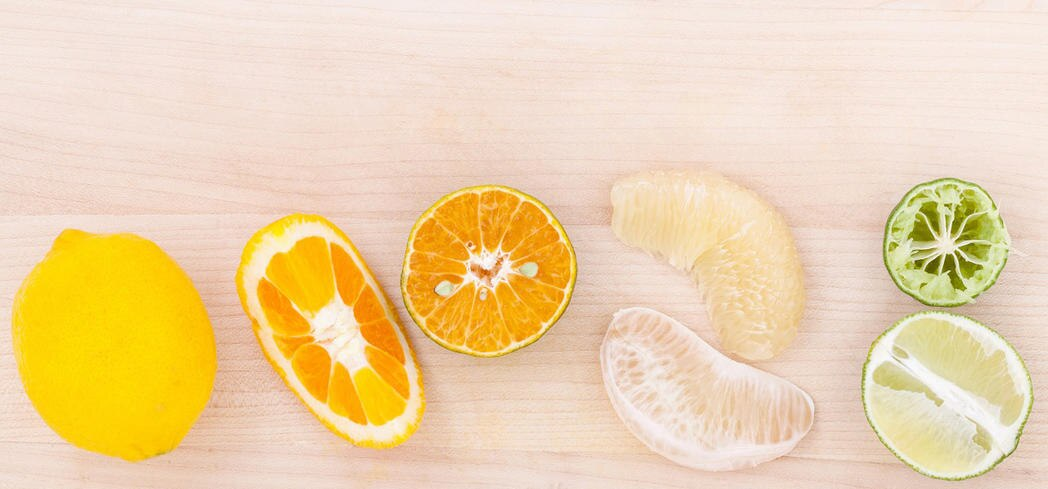 Citrus fruits are also high in folate and potassium